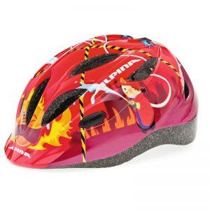Casco bicicleta niño Alpina