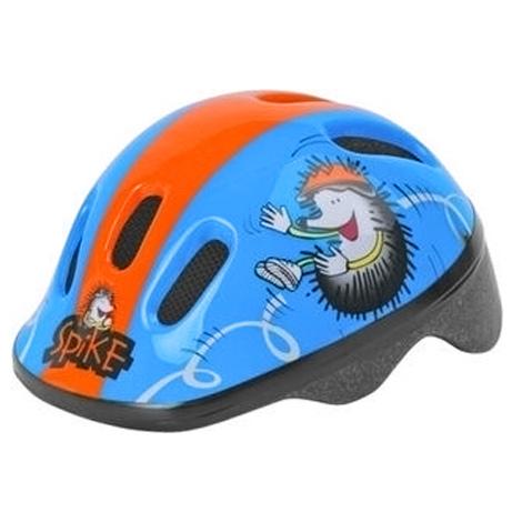 casco de bicicleta para niño Polisport Spike azul naranja